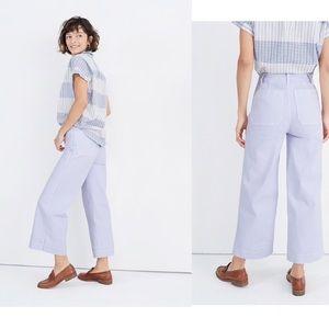 Madewell Tall Emmett Wide-Leg Crop Pants